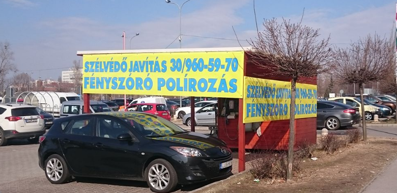 Szélvédő Javítás Budapest, Fényszóró Polírozás - Budapest